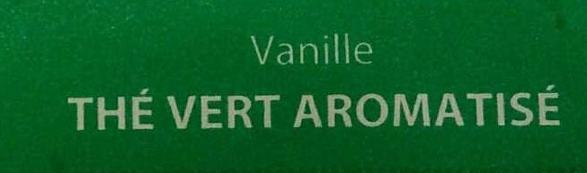 Thé Vert Aromatisé Vanille Bio (Tendres moments) - Ingrédients - fr