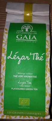 Thé Vert aromatisé Lézar'Thé 100g - Produit