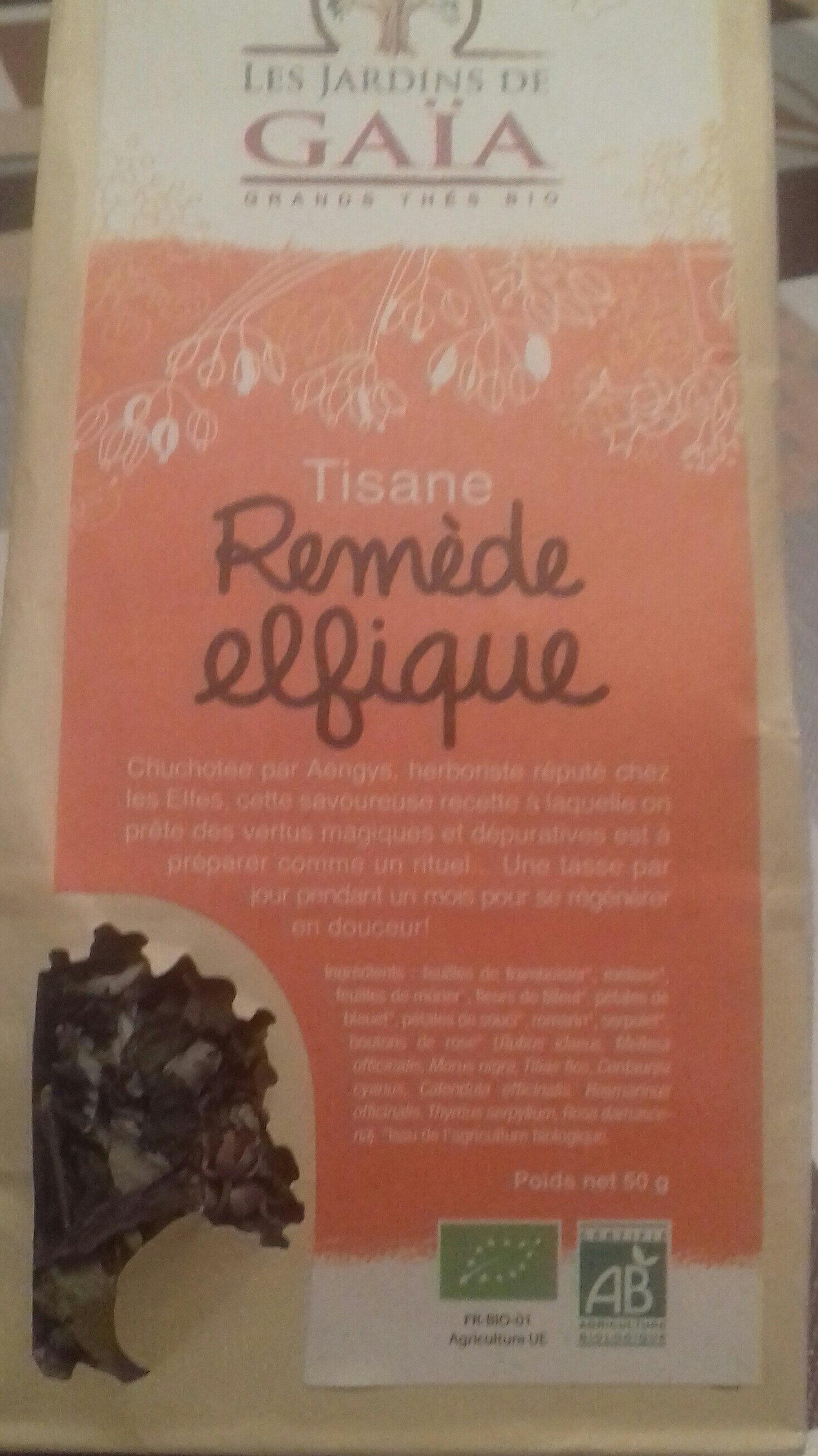 Tisane Remede Elfique - Sachet 50 G - Les Jardins De Gaïa - Product - en