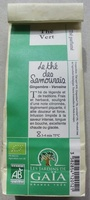Le thé des Samouraïs - Product - fr