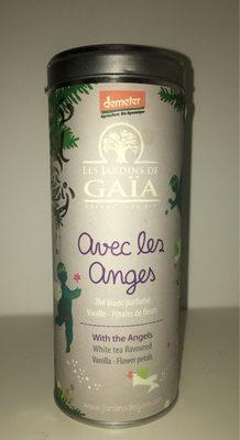 Thé Blanc Avec Les Anges Bio - Tube 50 g - Les Jardins De Gaïa - Product