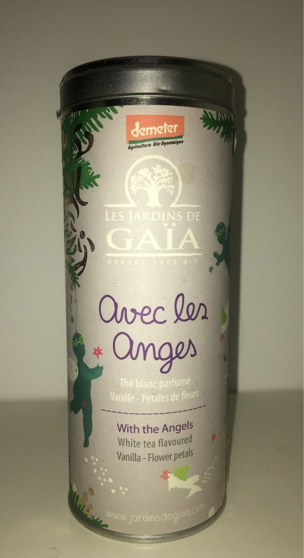 Thé Blanc Avec Les Anges Bio - Tube 50 g - Les Jardins De Gaïa - Produit - fr