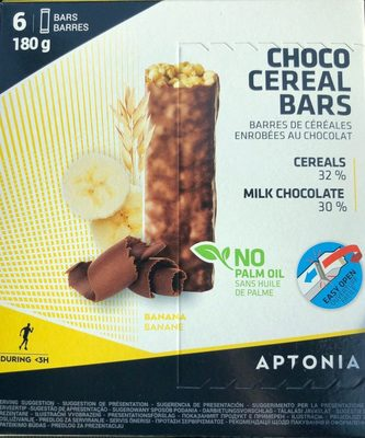 Choco Cereal Bars - Producte