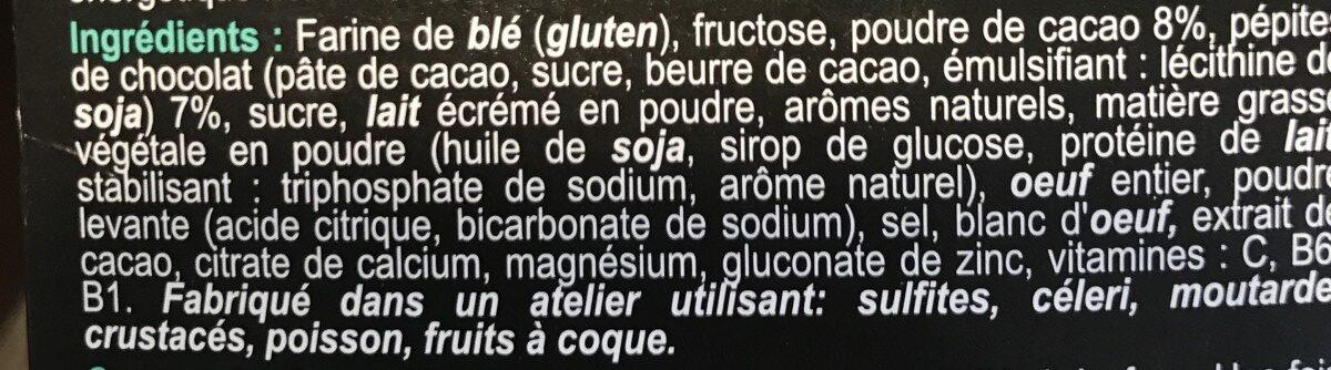 Energy Cake - Ingrediënten - fr
