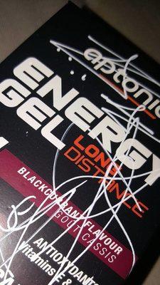 Energy Gel (Long Distance) cassis - Produit - fr