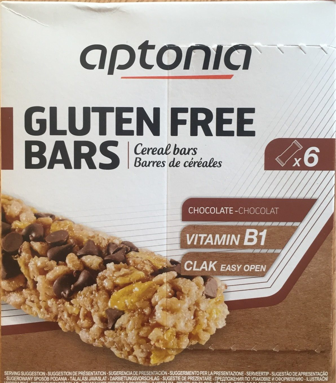 Gluten free bars chocolat - Producto - fr