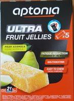 Ultra Fruit Jellies - Ingrédients - fr