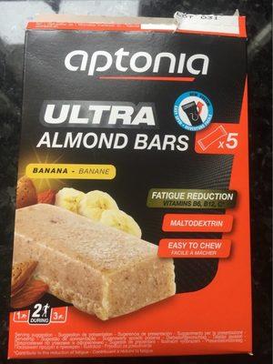 Ultra Almond Barre Banane, pâte d'amandes - Product