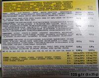 Ultra Almond Barre Banane, pâte d'amandes - Voedingswaarden