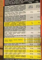 Ultra Gel 700 gout citron - Informations nutritionnelles - fr