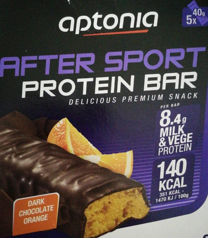 After Sport Protein Bar, Dark Chocolate Orange - Produit - fr