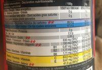 Isotonic Sport Drink Fraise-CeriseBoisson Isotonique à Reconstituer ISO+ FRAISE-CERISE - Informations nutritionnelles