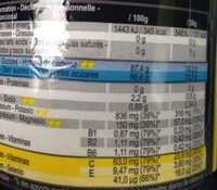 Isotonic sport drink - Informations nutritionnelles - fr