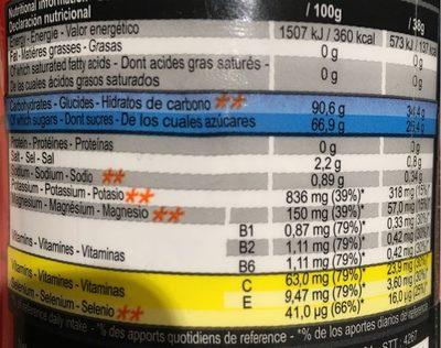 Aptonia Iso+ Sport Drink, Decathlon - Informations nutritionnelles - fr