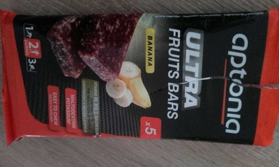Ultra fruits bars banane - Product
