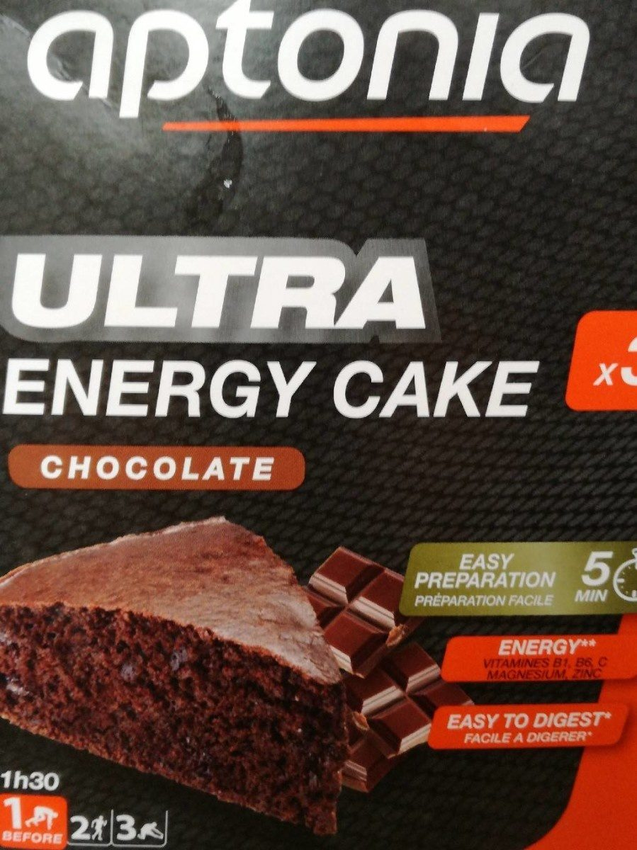 Ultra Energy Cake Chocolate - Product - fr