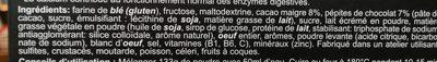 Ultra Energy Cake Chocolate - Ingredientes - fr