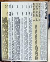 Barre amande - Información nutricional - es