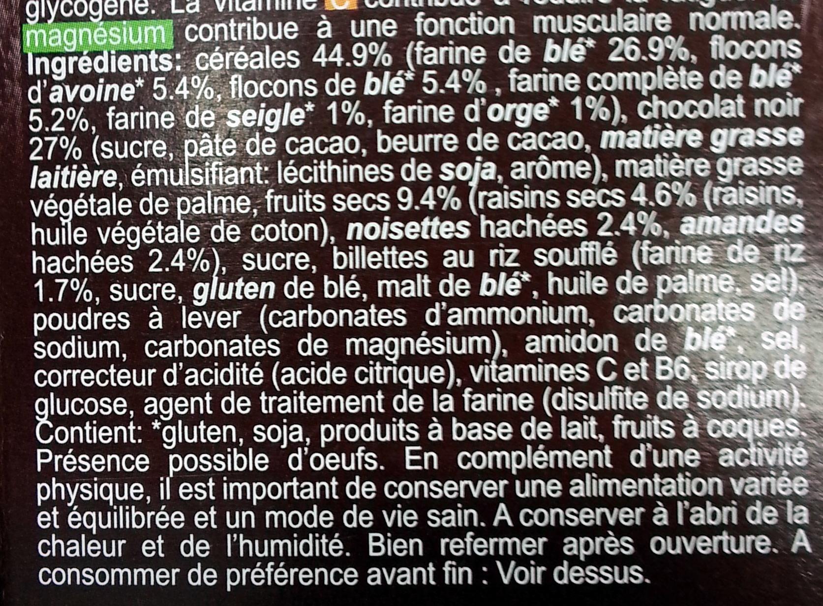 Choco cereals - Ingrediënten - fr