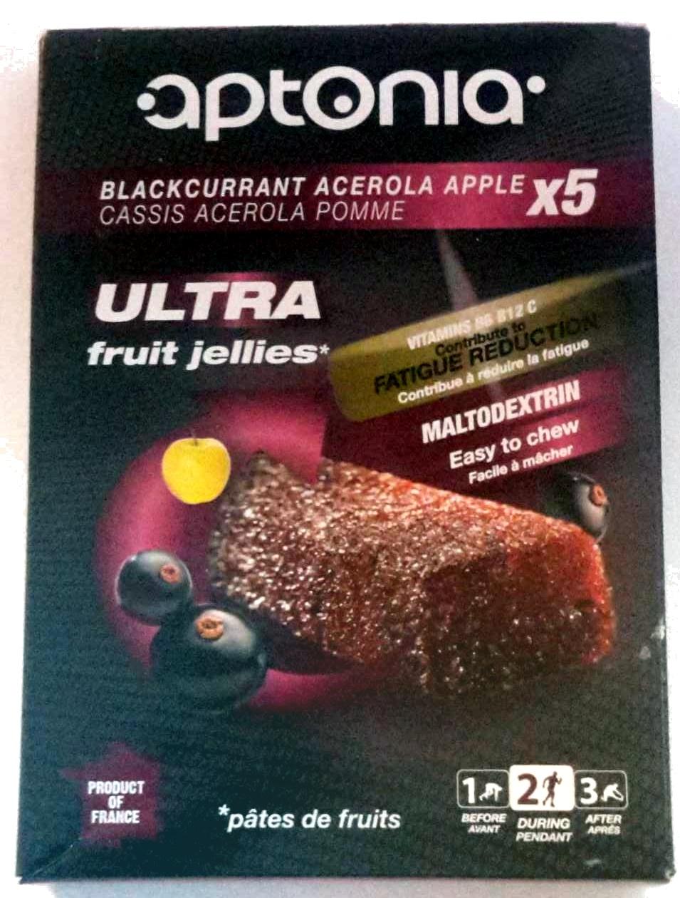 Ultra fruit jellies - Cassis Acelora Pomme - Prodotto - fr