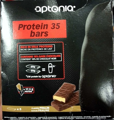 Protein 35 bars - Product - fr