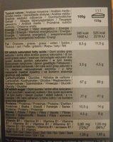 Super cake - Informations nutritionnelles