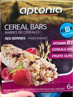 Cereal bars red berries - Producte