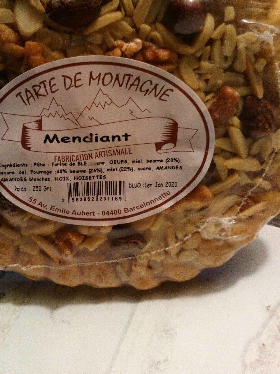 Tarte de montagne mendiant - Product - fr
