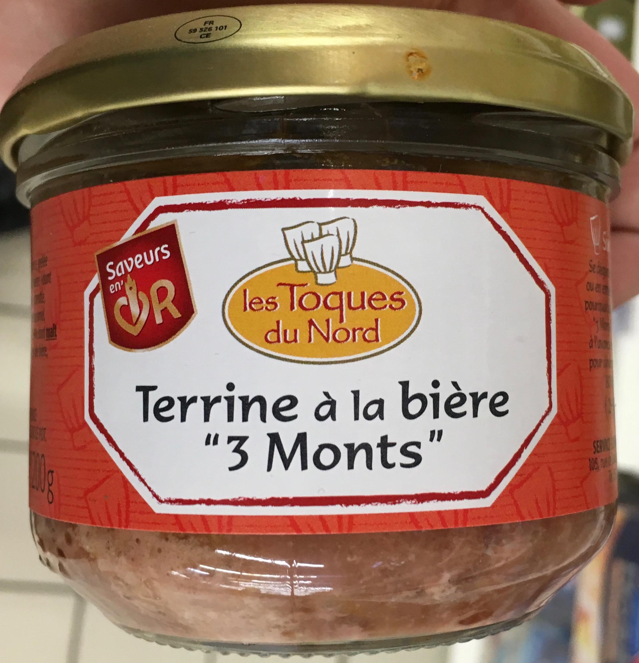"""Terrine à la bière """"3 Monts"""" - Product"""
