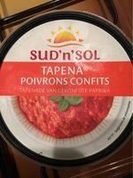 Tapena de Poivrons confits - Informations nutritionnelles - fr
