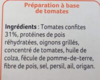 Steaks de tomates - Ingrédients - fr