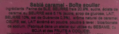 Petit sablés grande tradition - Ingredients - fr