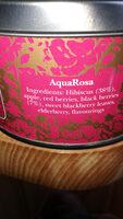 Kusmi tea Aquarosa - Nutrition facts