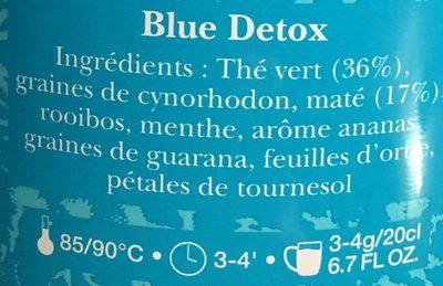 Blue detox - Ingrediënten
