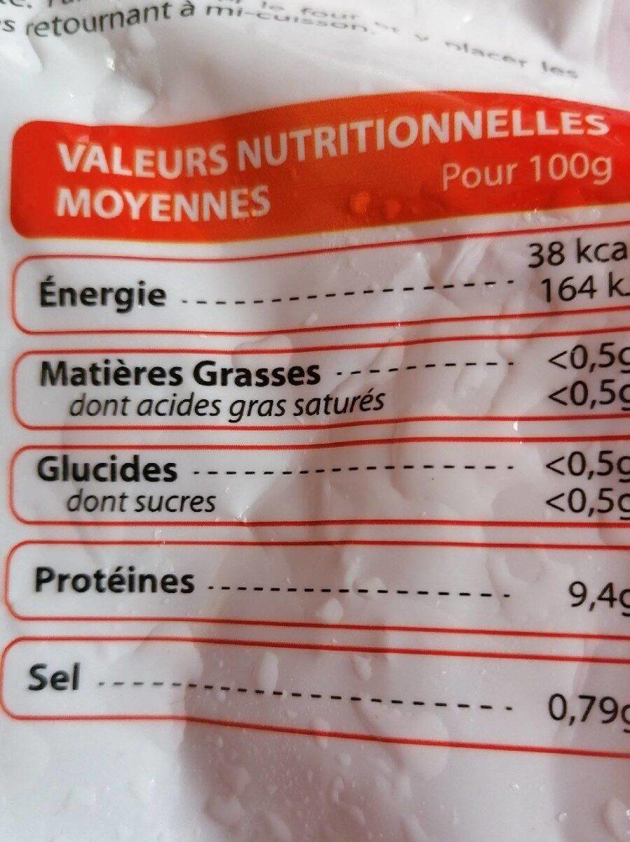 Lotte - Informations nutritionnelles - fr