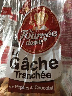 La gâche tranchée aux pepites de chocolat - Product - fr
