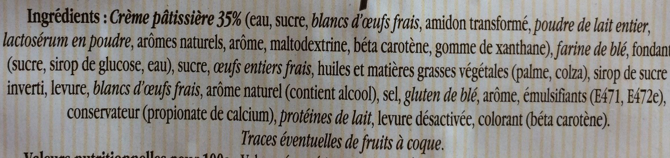 Brioche Suisse - Ingrediënten - fr