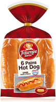 6 pains hot dog - Product - fr