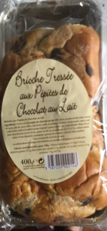Brioche Tressée aux Pépites de Chocolat au Lait - Product - fr