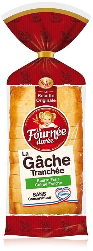 La Gâche Tranchée au Beurre Frais et à la Crème Fraîche - Produit - fr