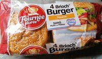 Brioch'burger sésame - Product - fr