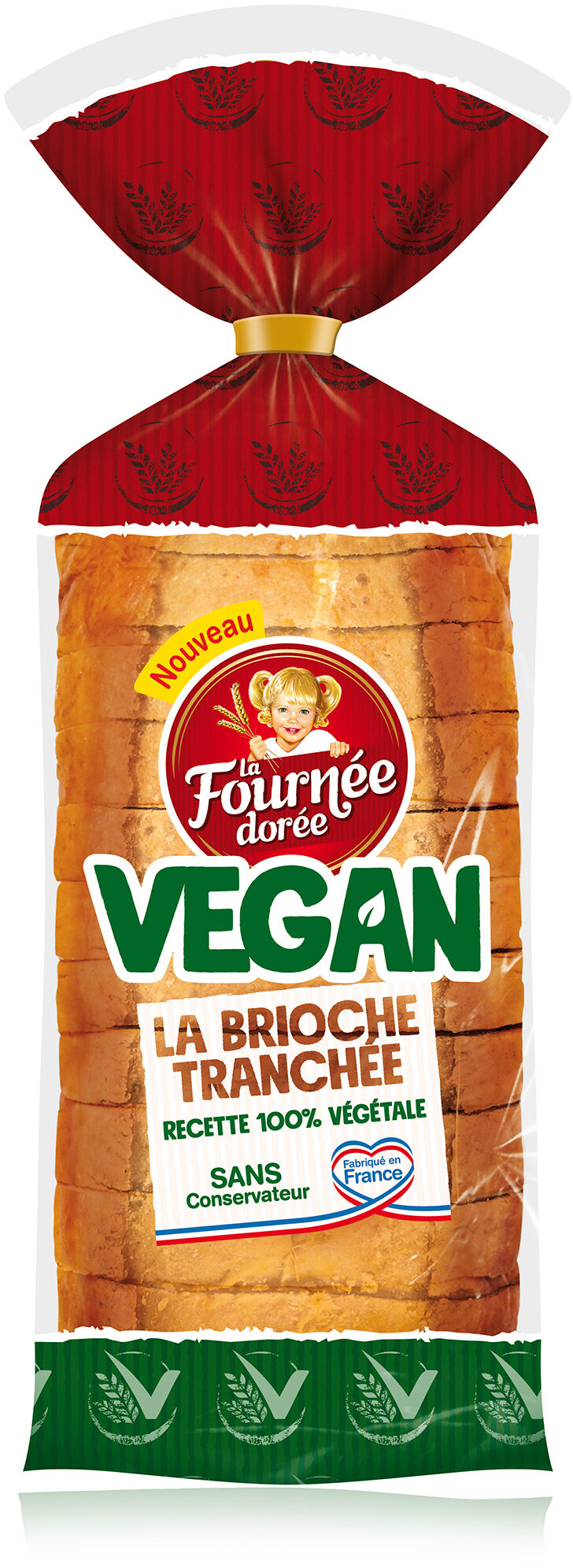 La brioche tranchée, recette 100% végétale - Product - fr