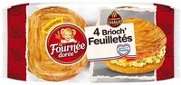 4 Brioch' Feuilletés - Product - fr