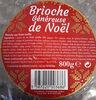 Brioche Généreuse de Noël - Produit