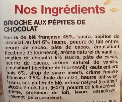 - Ingrediënten - fr