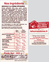 Le Chinois - Ingrediënten - fr