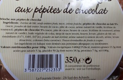 Couronne des rois - Ingrediënten - fr