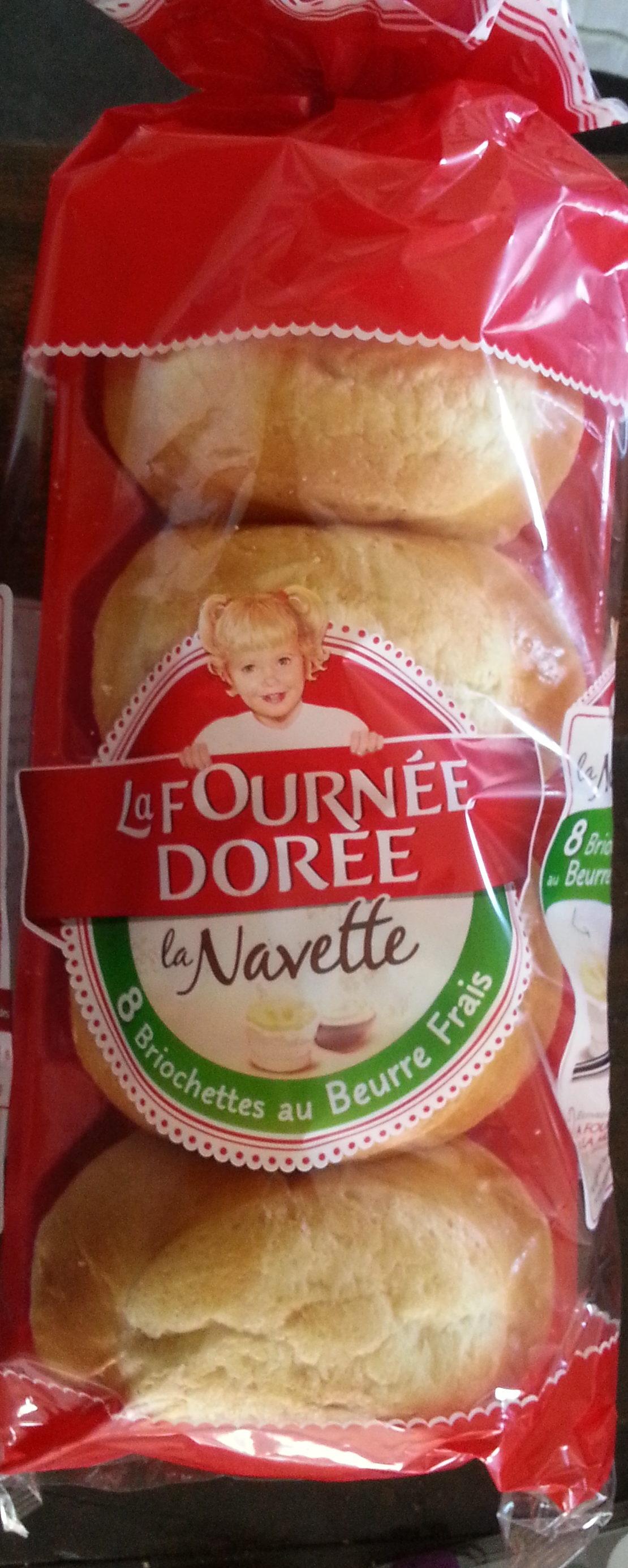 La Navette 8 briochettes au beurre frais - Product