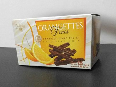 Orangettes fines - Product - fr