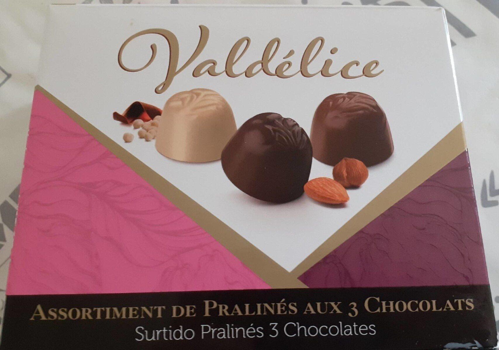 Assortiment Praliné aux 3 Chocolats - Produit - fr